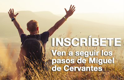 Formulario web de inscripción en el III Camino de Cervantes